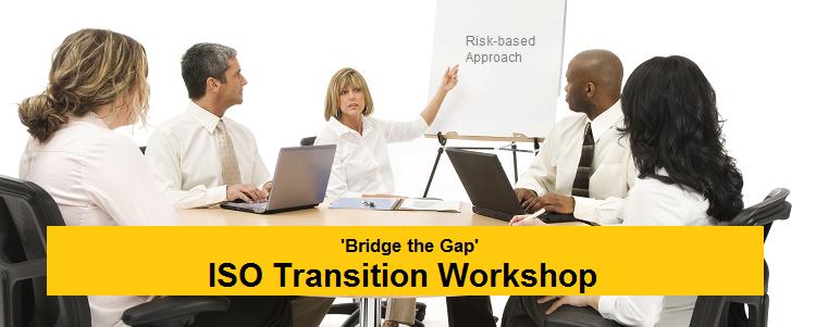 ISO 9001 Transition workshop