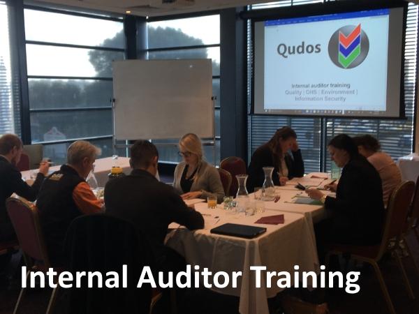 Qudos IMS Internal Auditor Training